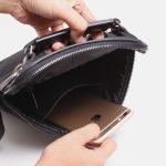 4. Detailing Sling Bag Foxie Black