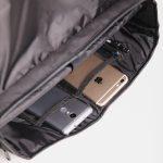 6. Slingbag Briefcase Olso 407 Black
