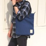 2. Tote Bag Mori 307 Blue